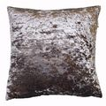 SHIMMERING PEWTER GREY LUSTRE CRUSHED VELVET CUSHION COVER £6.99 FREE POSTAGE
